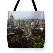 Edinburgh Princess Street Tote Bag