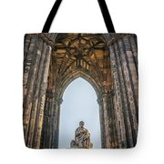 Edinburgh Sir Walter Scott Monument Tote Bag