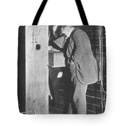 Edison Fluoroscope, 1896 Tote Bag by Science Source