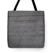 Edited Deleted History Tote Bag