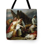 Edith Finding The Body Of Harold Horace Vernet Tote Bag