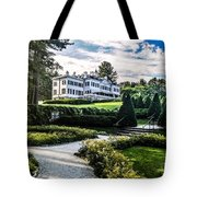 Edith Wharton Mansion Tote Bag