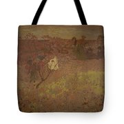 Edouard Vuillard - Walking In The Vineyard Tote Bag