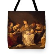 Education Of The Virgin 1642 Tote Bag