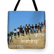 Educational Travel With Happymiles Tote Bag