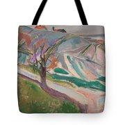 Edvard Munch , Landscape, Kragero Tote Bag