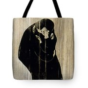 Edvard Munch: The Kiss Tote Bag
