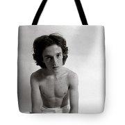 Edward Acker Portrait With Freckles Tote Bag