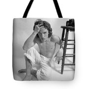 Edward Acker Portrait With Stool Tote Bag