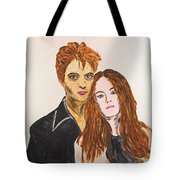 Edward And Bella Tote Bag