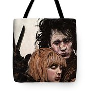 Edward And Kim Tote Bag