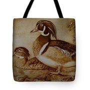 Edward And Mae Tote Bag