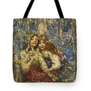 Edward Atkinson Hornel 1864-1933 The Bluebell Wood Tote Bag