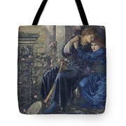 Edward Burne-jones, Love Among The Ruins, 1894 Tote Bag