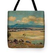Edward Cairns Officer 1871-1921 Landscape Tote Bag