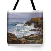 Edward Henry Potthast 1857 - 1927 Looking Out To Sea Tote Bag
