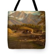 Edward Hill 1843-1923 Adamsons Ranch, Utah Tote Bag