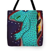 Edward The Walking Ardvark Tote Bag by Robert Margetts