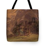 Edward Theodore Compton American 1849-1921 Mountains At Twilight, 1907 Tote Bag