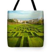 Edward Vii Park Tote Bag
