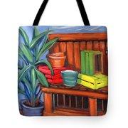 Edwards Nursery Potting Bench Tote Bag