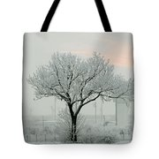 Eerie Days Tote Bag