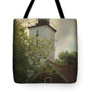 Erie Lighthouse 1872 Tote Bag