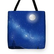 Eeyore A Lonely Night Tote Bag