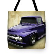 Ef In Purple Tote Bag