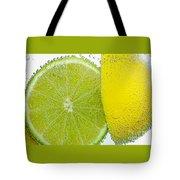 Effervescent Lime And Lemon By Kaye Menner Tote Bag