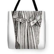 Effigy Of King John On His Tomb In Tote Bag
