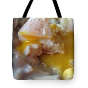 Egg And Gravy Tote Bag
