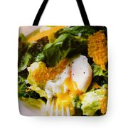 Egg And Greens Tote Bag