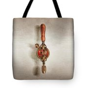 Egg Beater Hand Drill Tote Bag