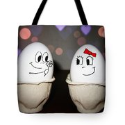 Egg Love Tote Bag