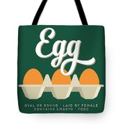 Eggs Defined Tote Bag