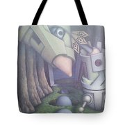 Eggs 'en A Basket Tote Bag