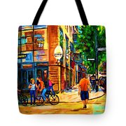 Eggspectation Cafe On Esplanade Tote Bag