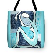 Eggtree Abstract Art Figure Tote Bag