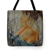 Eglantine Before The Mirror  Tote Bag
