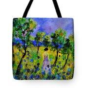 Eglantine's Summer Walk Tote Bag