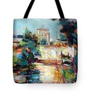 Eglise Roman Tote Bag