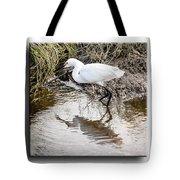 Egret 3 Tote Bag