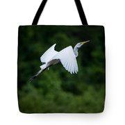 Egret Rising II Tote Bag