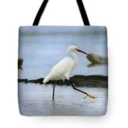 Egret Step Tote Bag