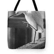 Egret Tai Chi Tote Bag