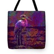 Egret White Bird Beach Wildlife  Tote Bag
