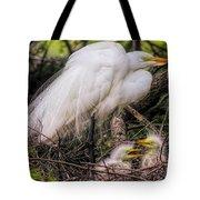 Egrets - 3362 Tote Bag