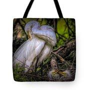 Egrets - 3399 Tote Bag