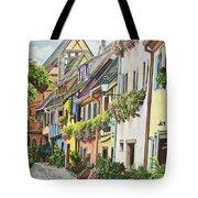 Eguisheim In Bloom Tote Bag